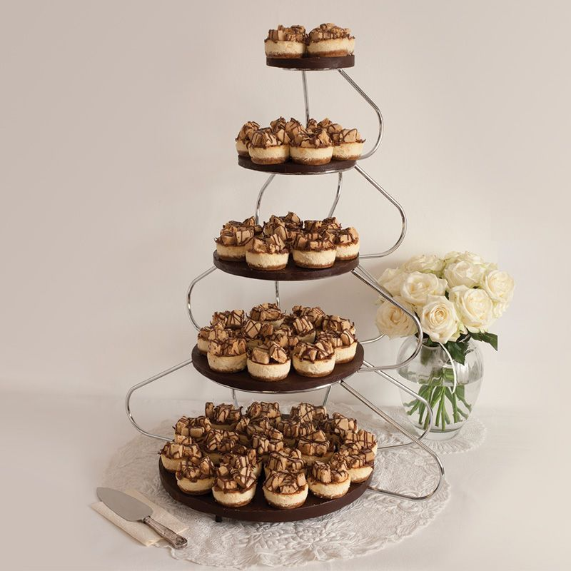 Millionaires Shortbread Wedding Cheesecake Minis 140 Serving