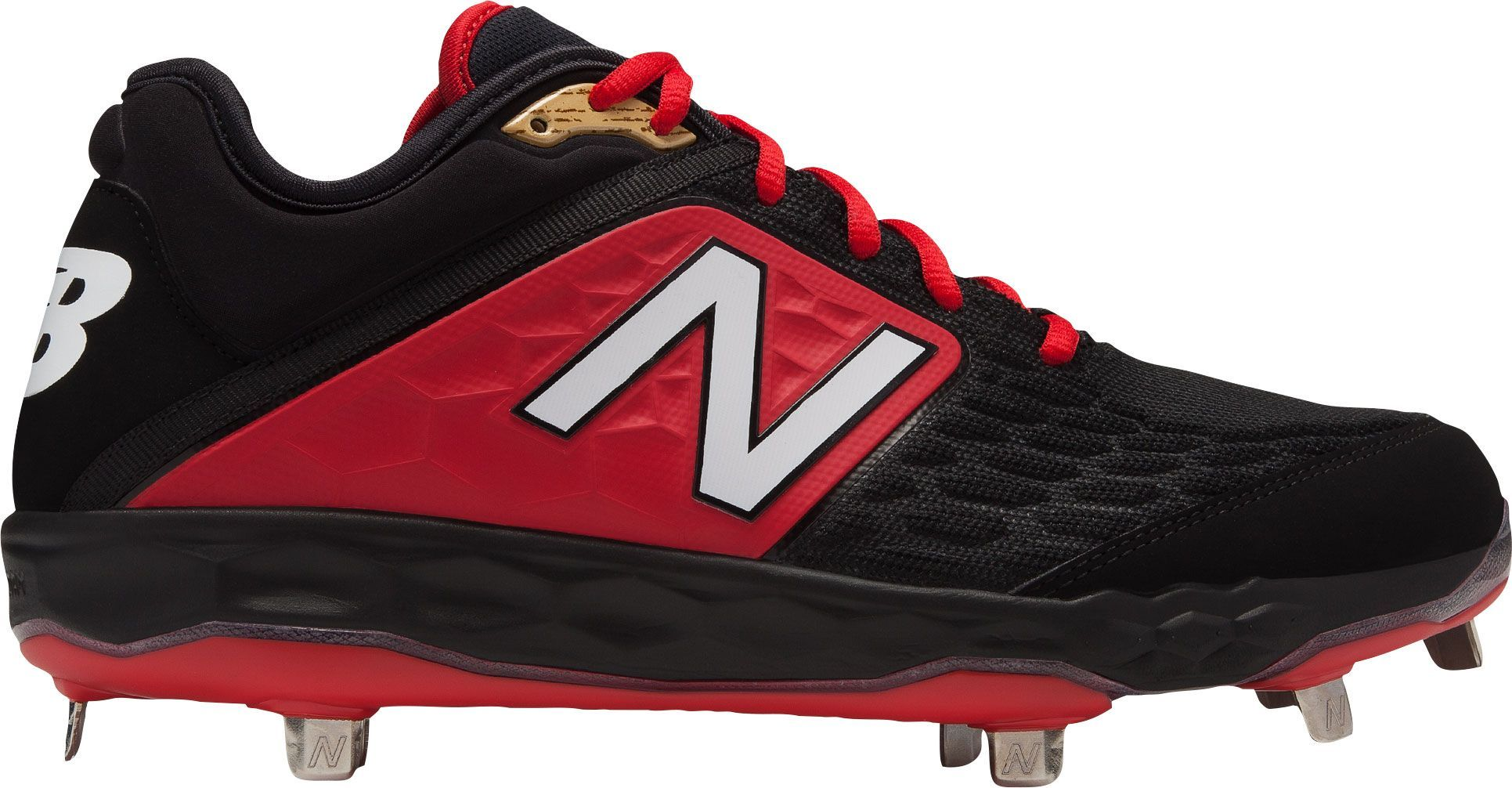 534059ef26b1 New Balance Men's 3000 V4 Metal Baseball Cleats, Size: 7.0, Red ...