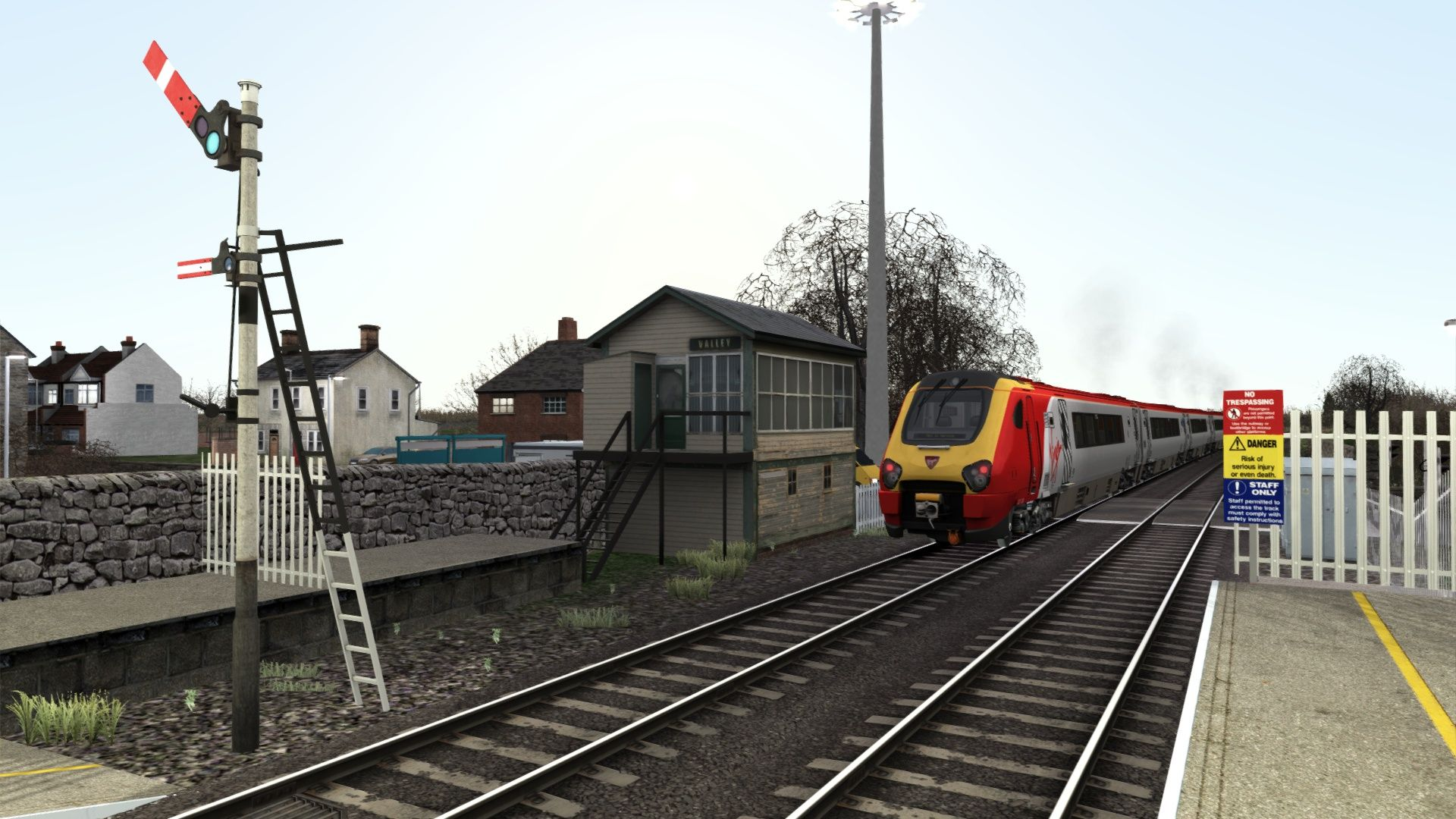 Train Simulator: North Wales Coastal Route Extension Add-On #northwales