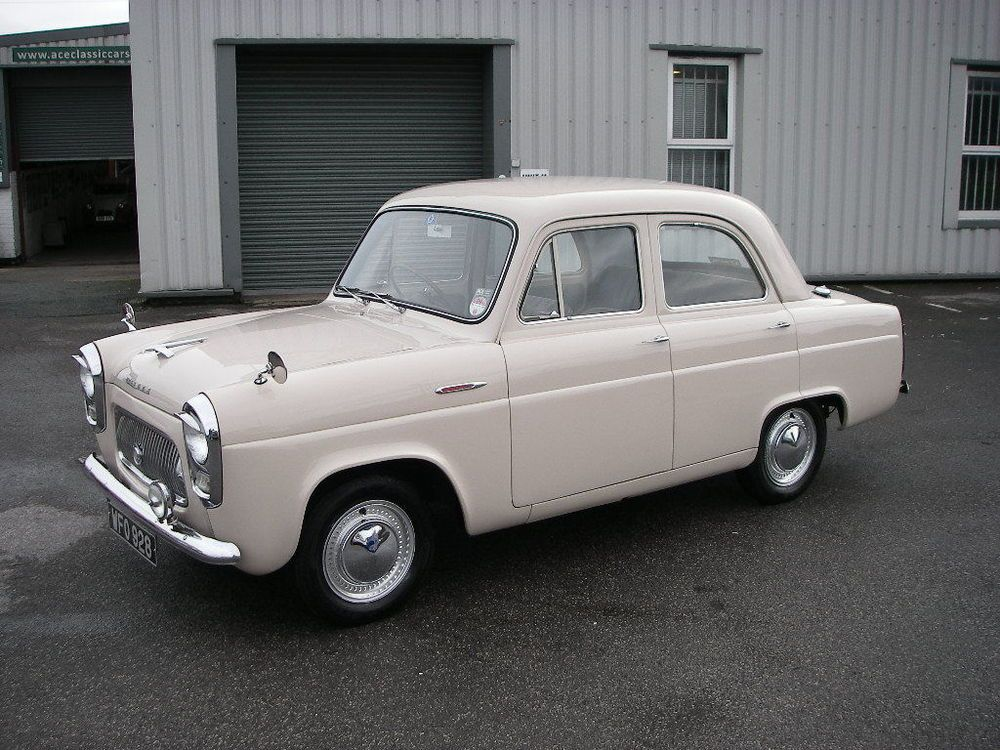 1955 FORD 100E PREFECT 4 Door Saloon | Ford, Doors and Cars
