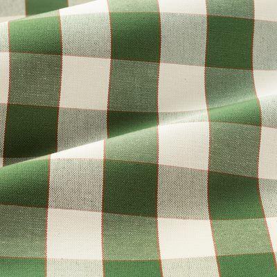 Textile Gripsholmsruta - Linen Cotton, Gripsholmsruta, Green, Svenskt Tenn | Svenskt Tenn