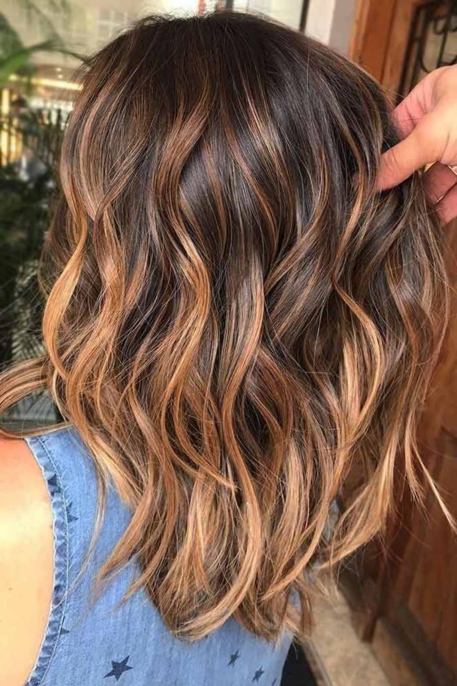 55 Hervorgehobenes Haar Fur Brunette Brunette Fur Haar Hervorgehobenes Haarfarben Frisur Lange Haare Pony Haarfarbe Brunett