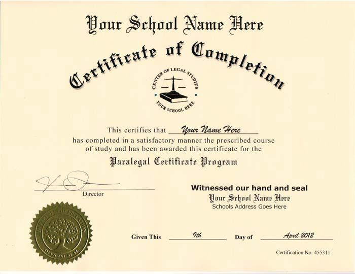 Ged Certificate Template Download Ged Certificate Template