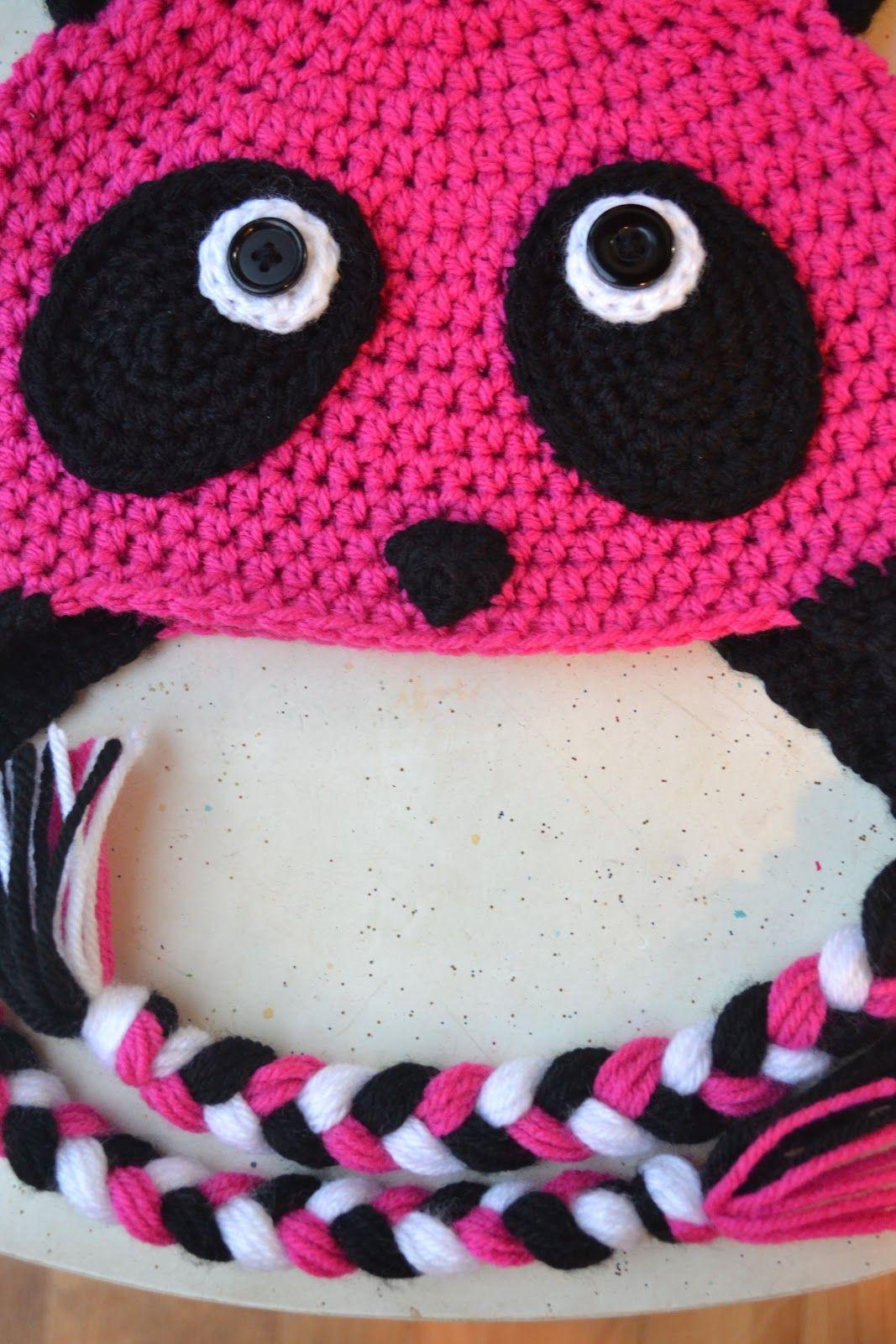 Crochet in Color: The Pink Panda | Crochet | Pinterest | Gorros ...
