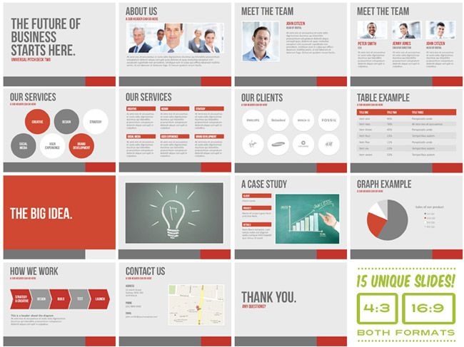 great pitch deck google search branding pinterest