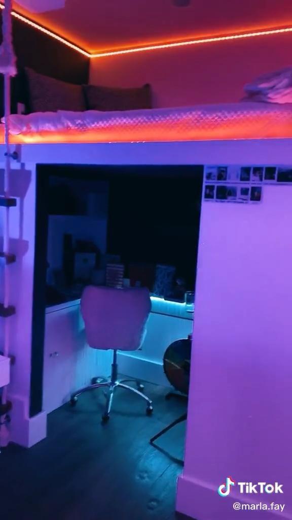 Tik Tok Tik Tok Tips Room Organization Video Bedroom Setup Game Room Design Gamer Room Decor