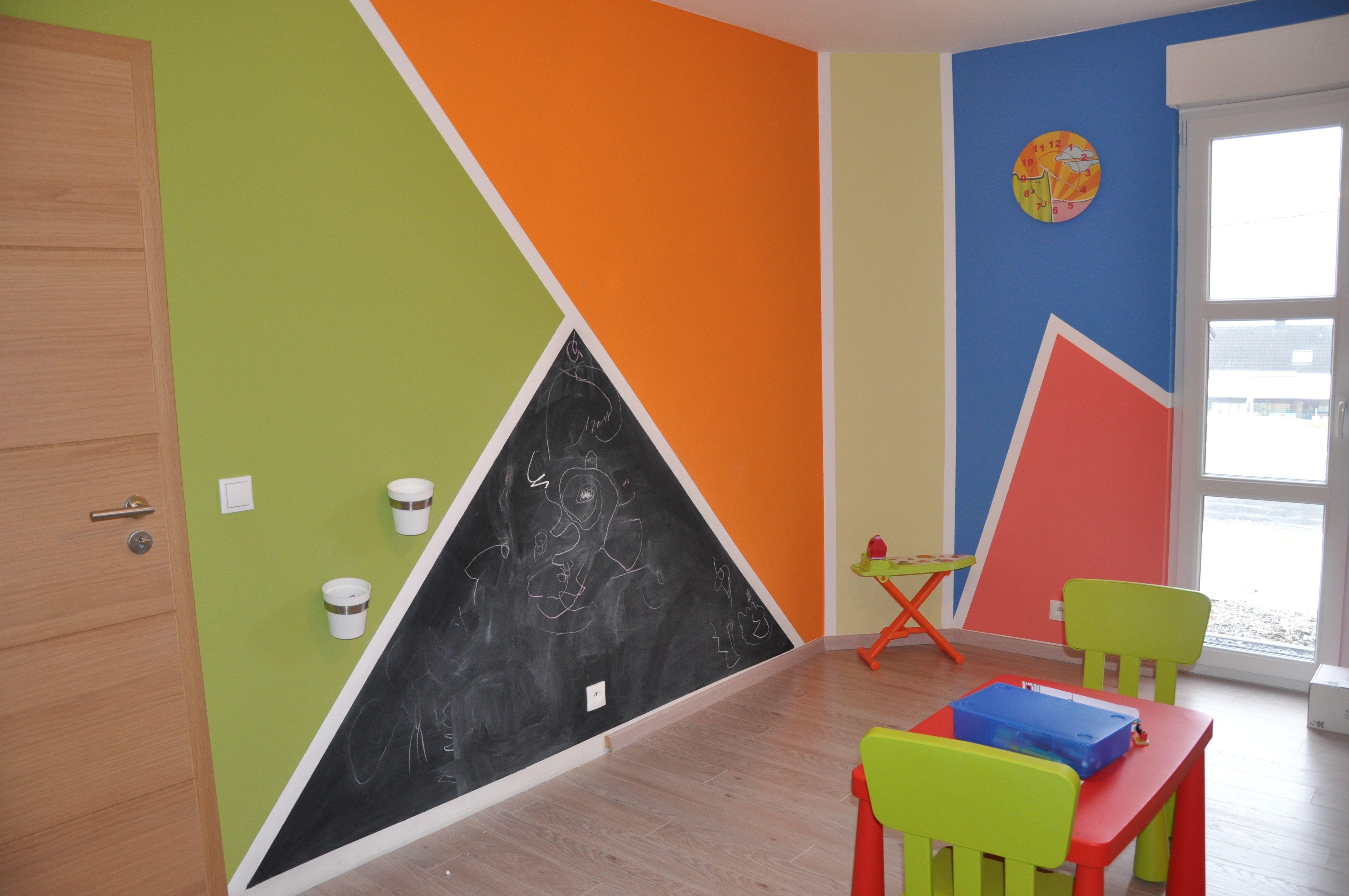 Des idées de design chambre wengé et vert : Chambre enfant Vert ...