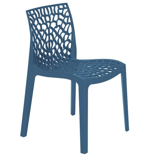 Astonishing Neptune Stacking Side Chair Caracella Colour Avio Blue In Machost Co Dining Chair Design Ideas Machostcouk