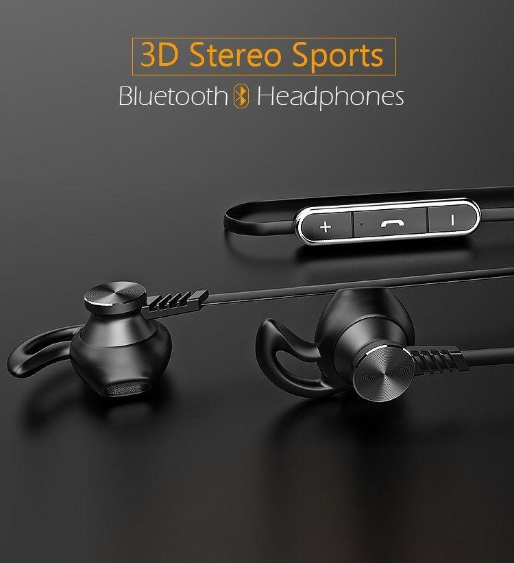 445c57edd1f Langsdom L5 Bluetooth Earphone With Mic Wireless Earphones Sports audifonos  Bluetooth Headphones Half In-ear Wireless Headphones
