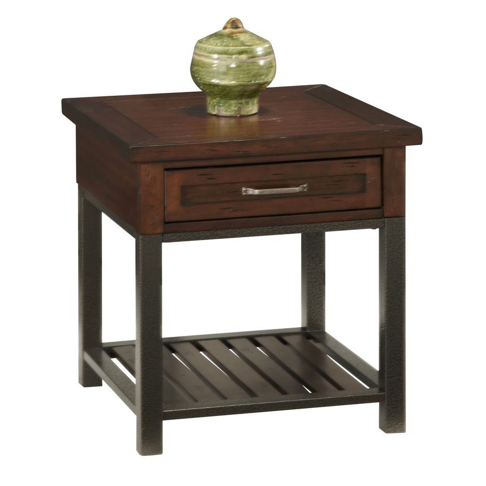 Cabin Creek End Table Overstock Com Shopping The Best Deals On