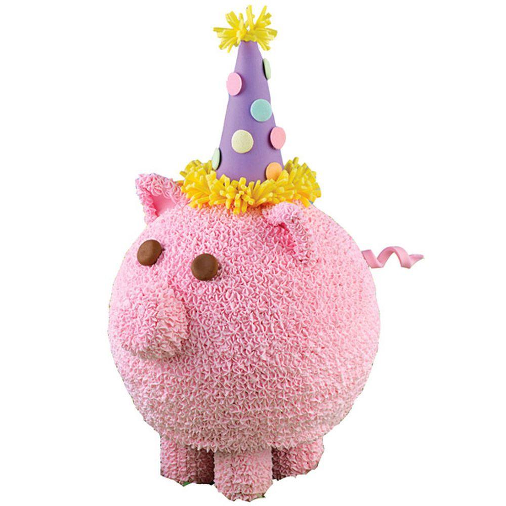 Party Whole Hog Cake Recipe Pig Cake Pops Piggy Cake Wilton Cake Decorating [ 1000 x 1000 Pixel ]