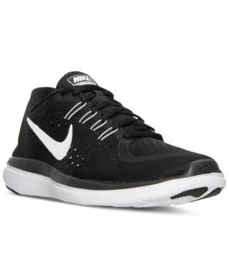Nike Women S Flex 2017 Run Running Sneakers From Finish Line Macys Com Running Sneakers Women Nike Women Nike Flex Run
