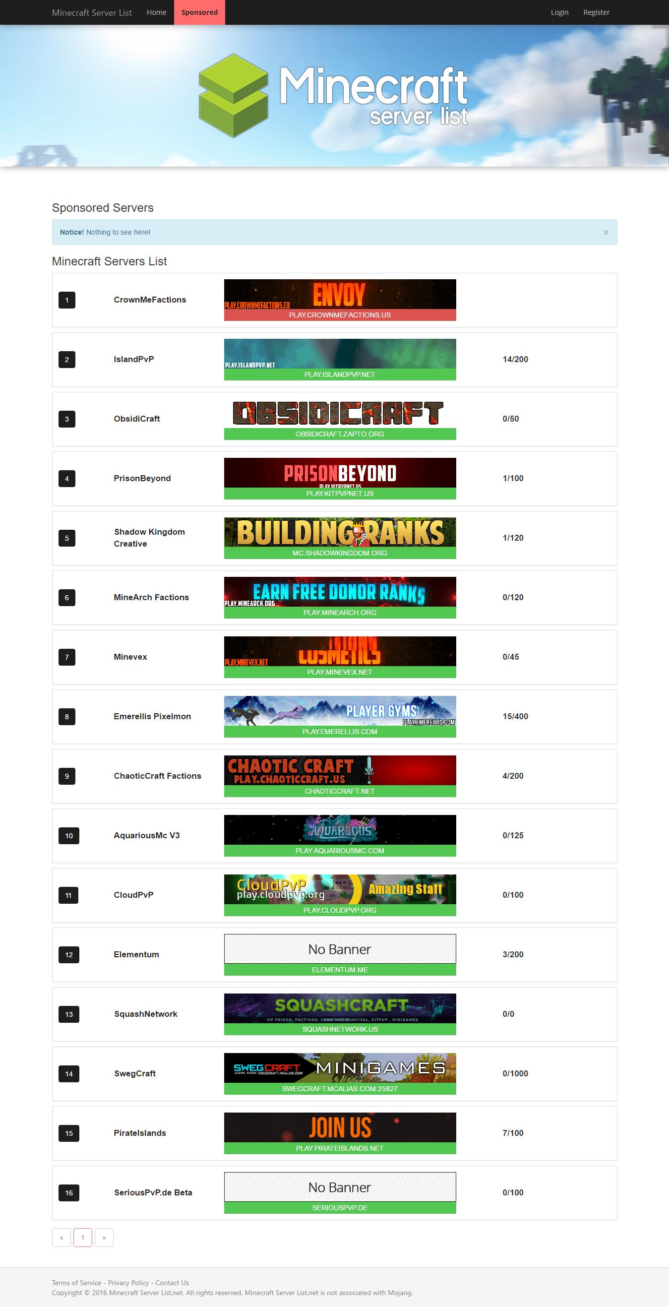 Pin on Top Minecraft Servers
