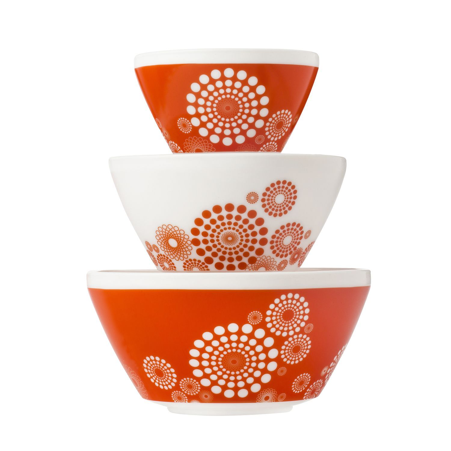 Vintage Charm™ Tickled Pink 3-pc Mixing Bowl Set, inspired by ...