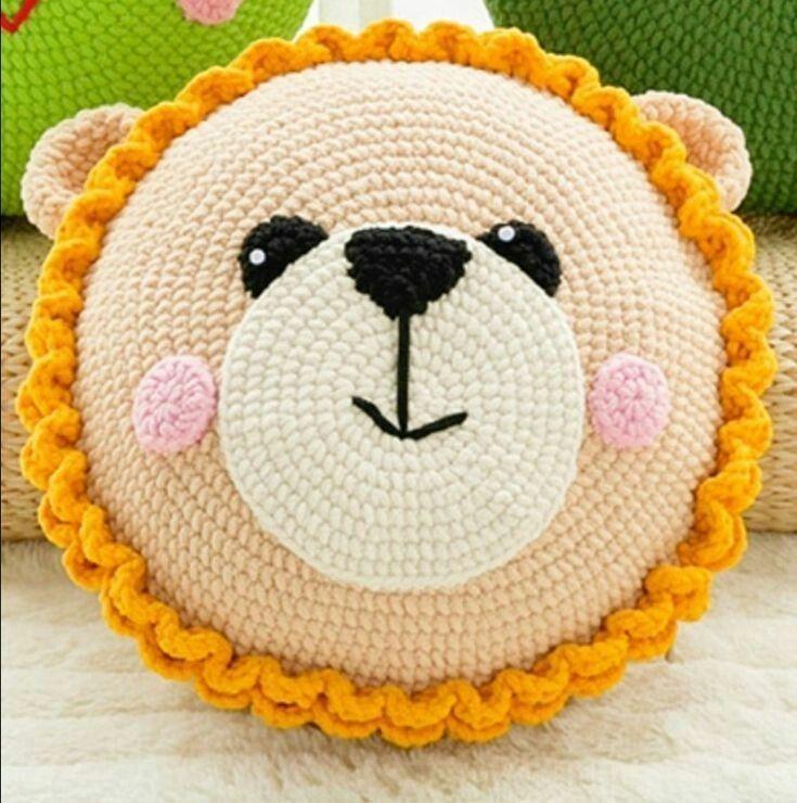 New Unique crochet Animated Pillow Ideas