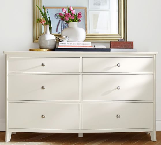 Chloe 6Drawer Extra Wide Dresser Extra wide dresser