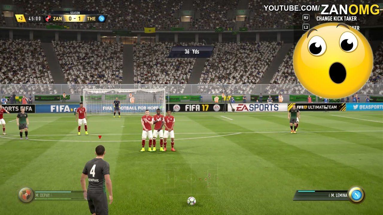Amazing Free Kick Goal Fifa 17 Fifa 17 Ultimate Team Fifa