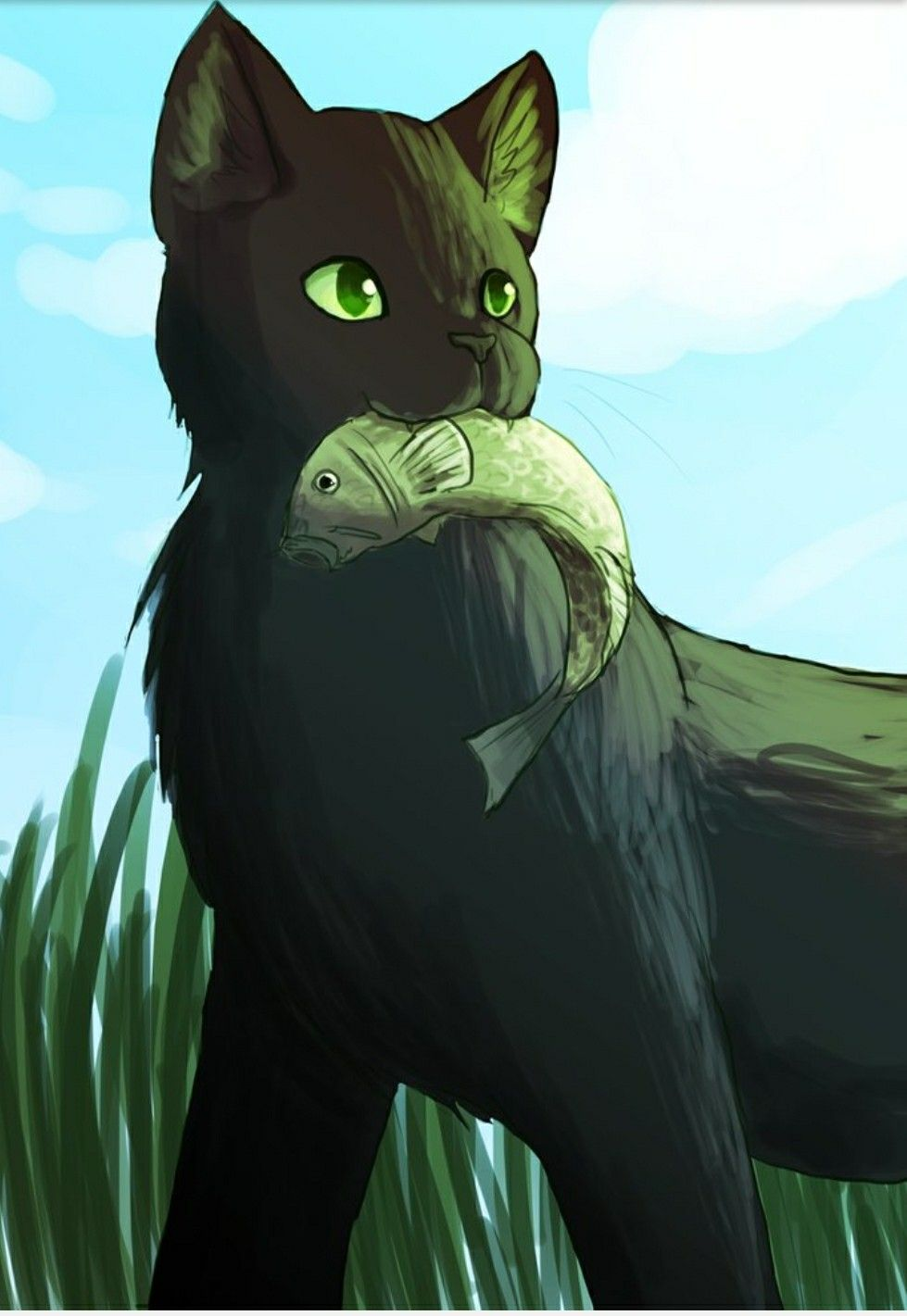 Reedwhisker of Riverclan. Let me just say, Reedwhisker is