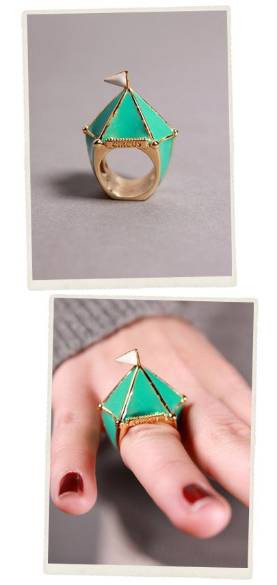 circus tent ring  sc 1 st  Pinterest & circus tent ring | love true love | Pinterest | Tents Turquoise ...