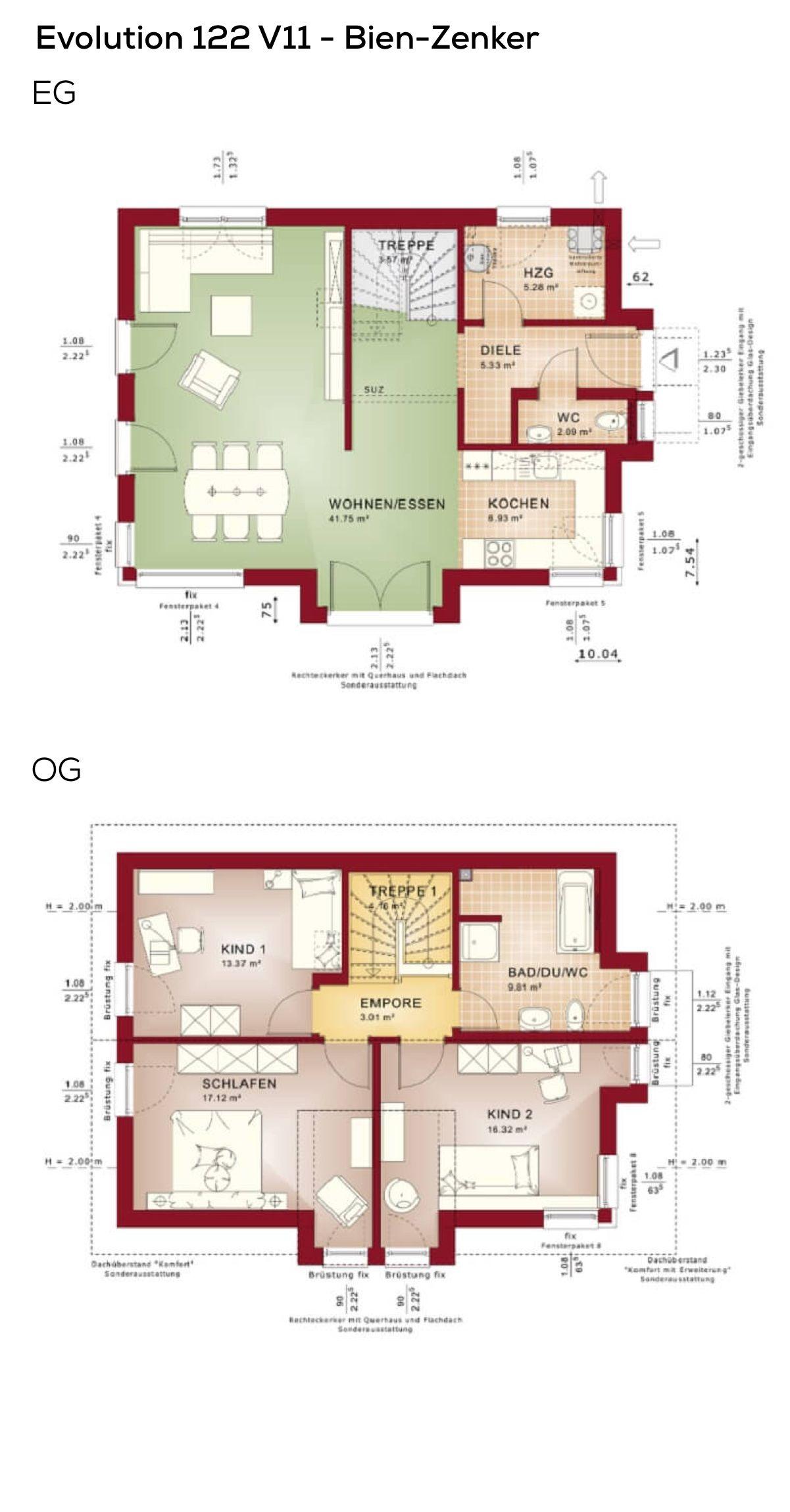 Perfect Grundrisse Einfamilienhaus Modern Mit Satteldach Und Querhaus   4 Zimmer,  Offener Erdgeschoss Grundriss, Treppe