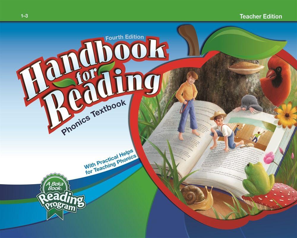 Abeka Product Information Handbook For Reading Teacher Edition Reading Teacher Phonics Reading Phonics Help [ 800 x 1000 Pixel ]
