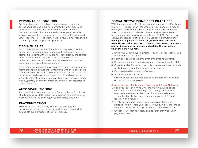 Catalogue Design By Inga Design For Employee Handbook  Design