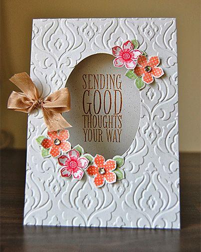 Petite Petals Card - So pretty!