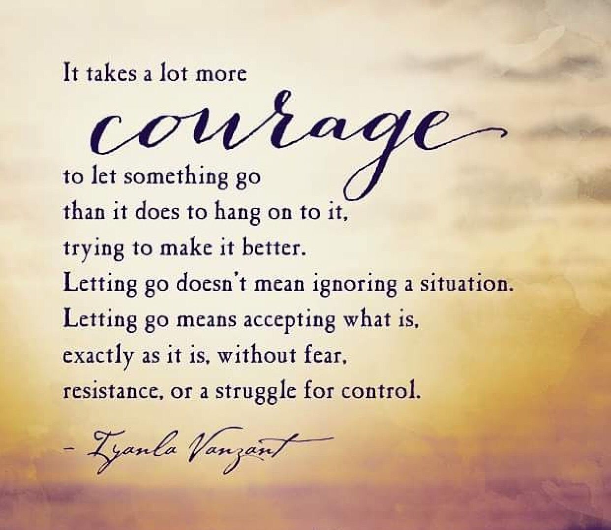 Courage To Let Go Christian Quotes Let God Christian Quotes Quotes