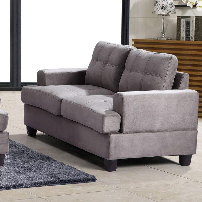 Glory Furniture Loveseat | AllModern