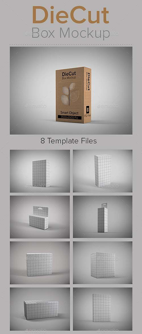 12267+ Box Mockup Graphicriver Mockups Builder