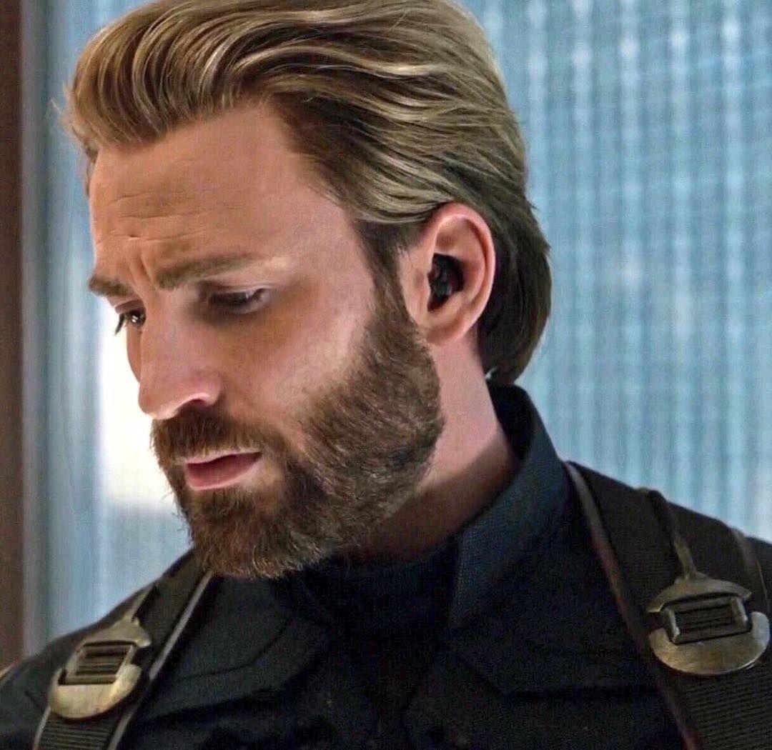 dazedsunset  Chris evans haircut, Chris evans beard, Chris evans