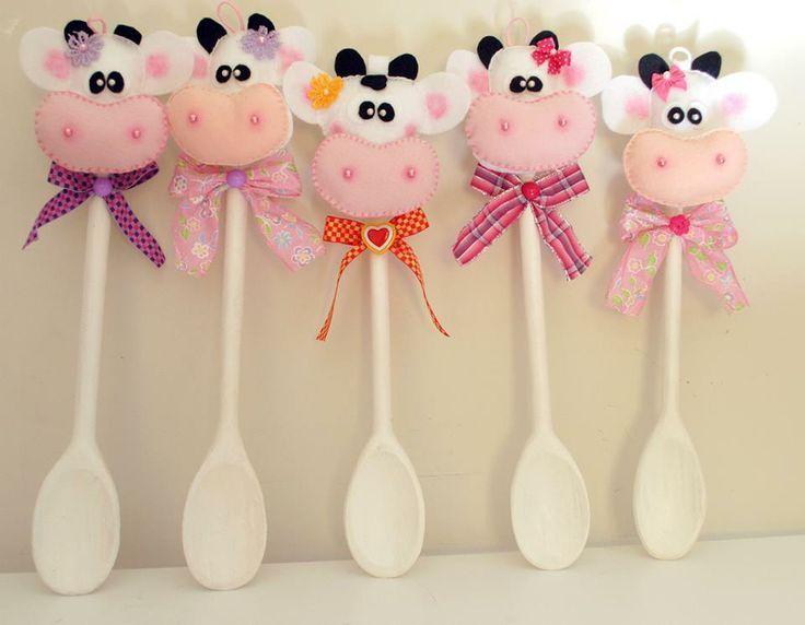 Resultado de imagen para cucharas decoradas diy pinterest for Paletas de cocina decoradas