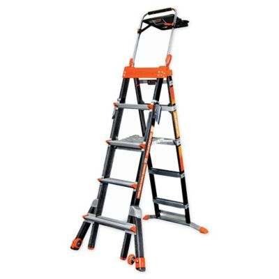 Little Giant 5 8 Select Step Type Iaa Fiberglass Ladder With