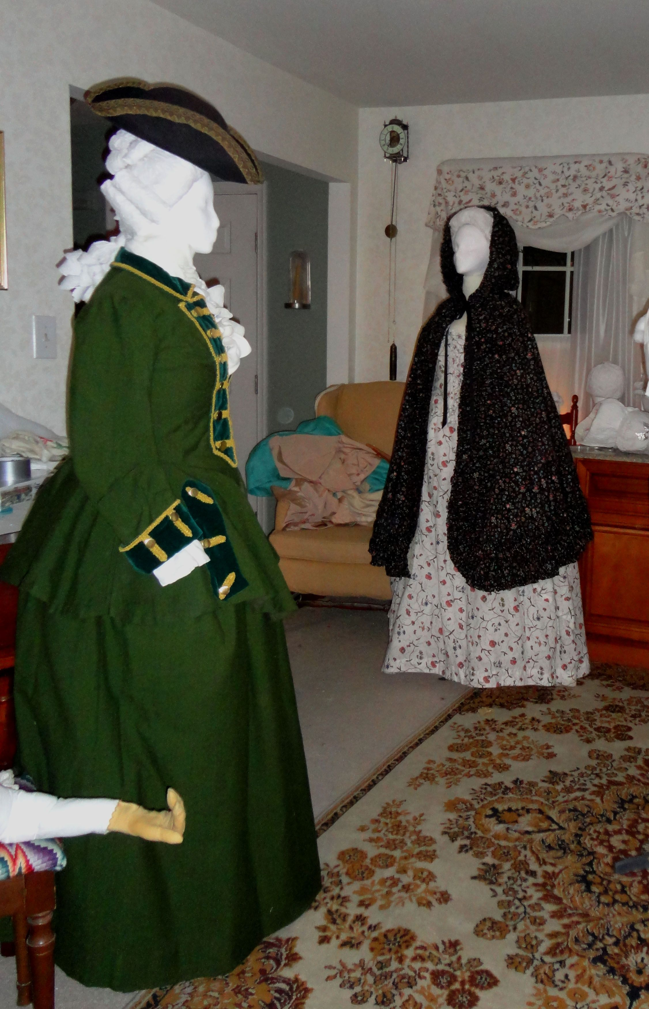 18th century riding habit reproduction equestrian. Black Bedroom Furniture Sets. Home Design Ideas
