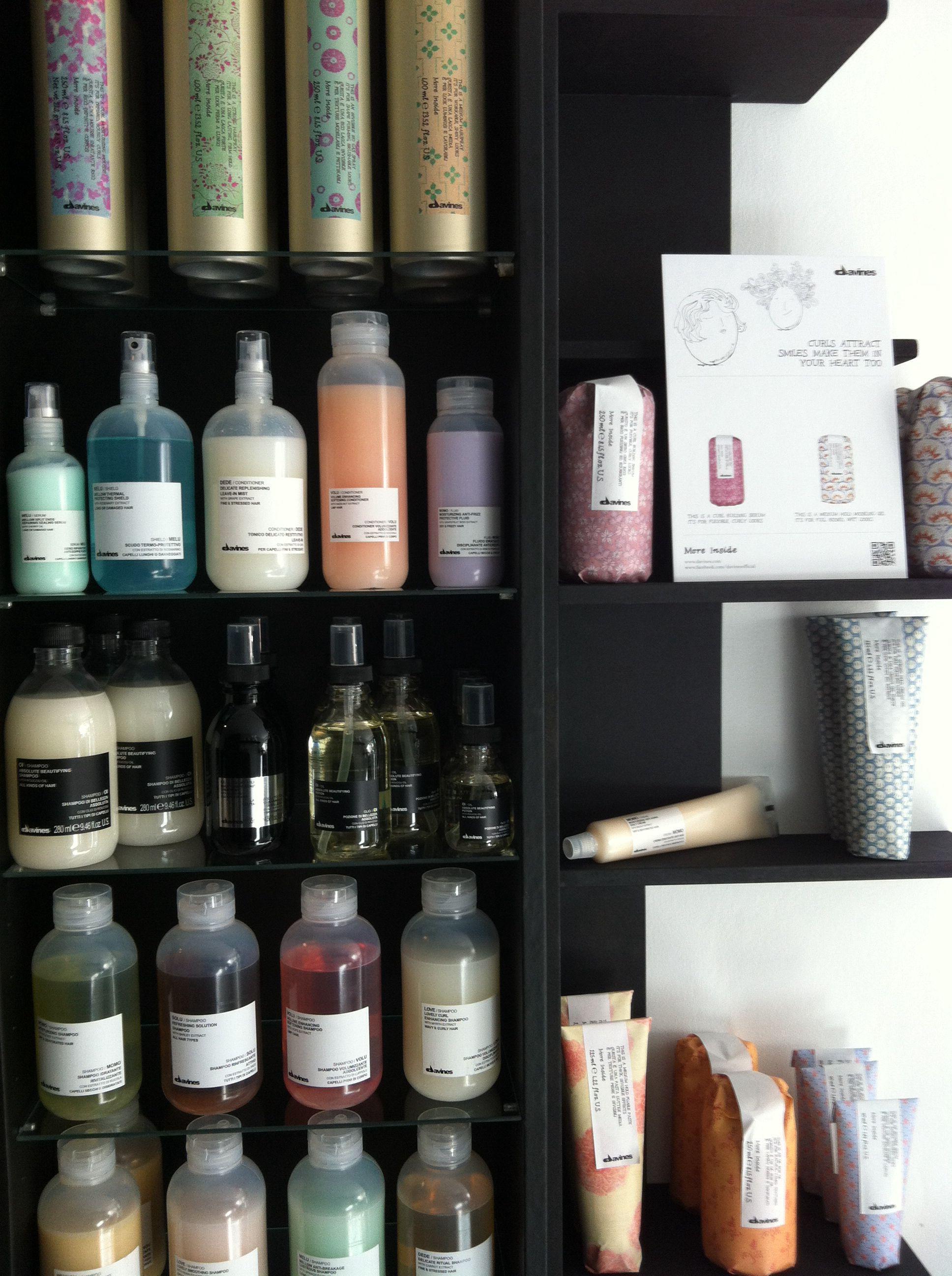 Davines products salon ANNN.. Love it!!!! Salons