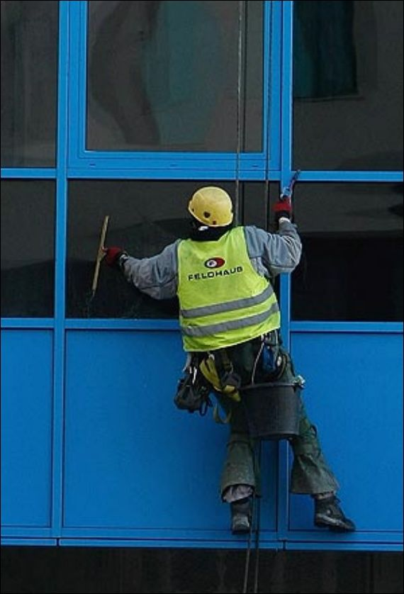 Robinson-Solutions Professional Window Cleaning: Freezing