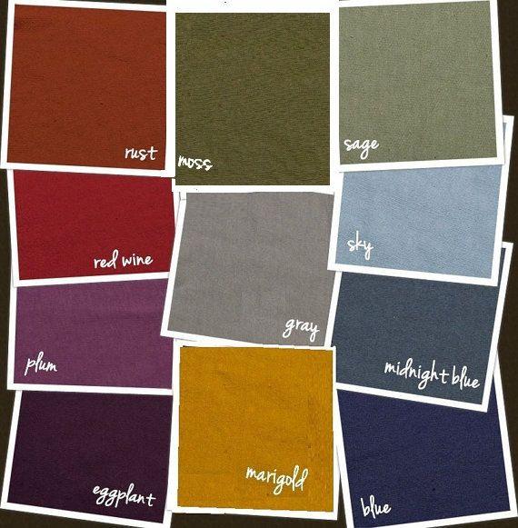 Hand Dyed Organic Cotton Sweatshirt Fleece Fabric by the Yard. I ...