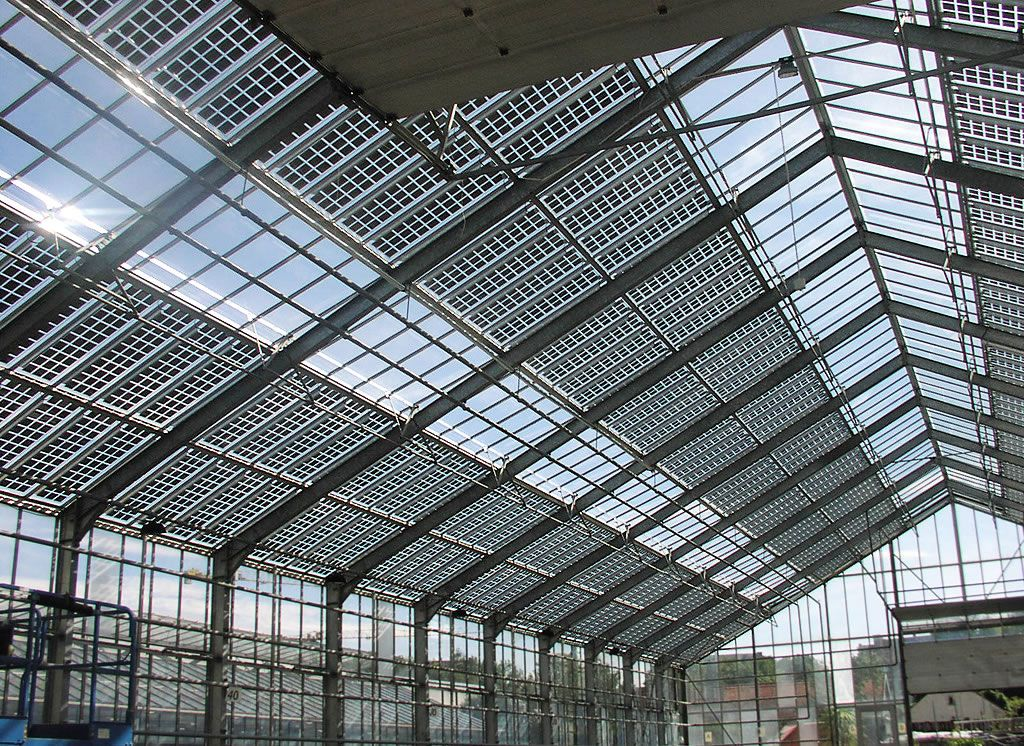 Greenhouse Solar Photovoltaic Remodeling Aiaideed