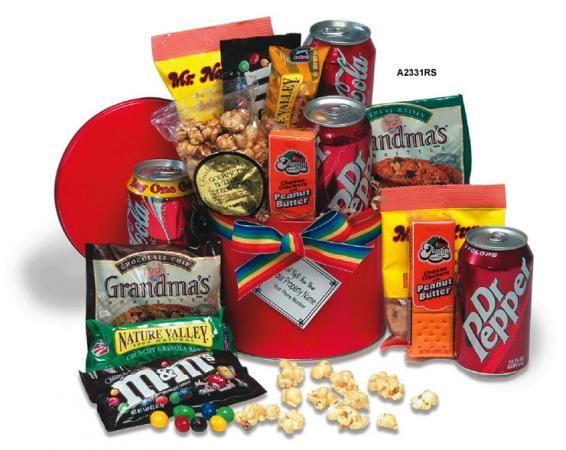 Los snacks estimulan las áreas del cerebro relacionadas con el placer
