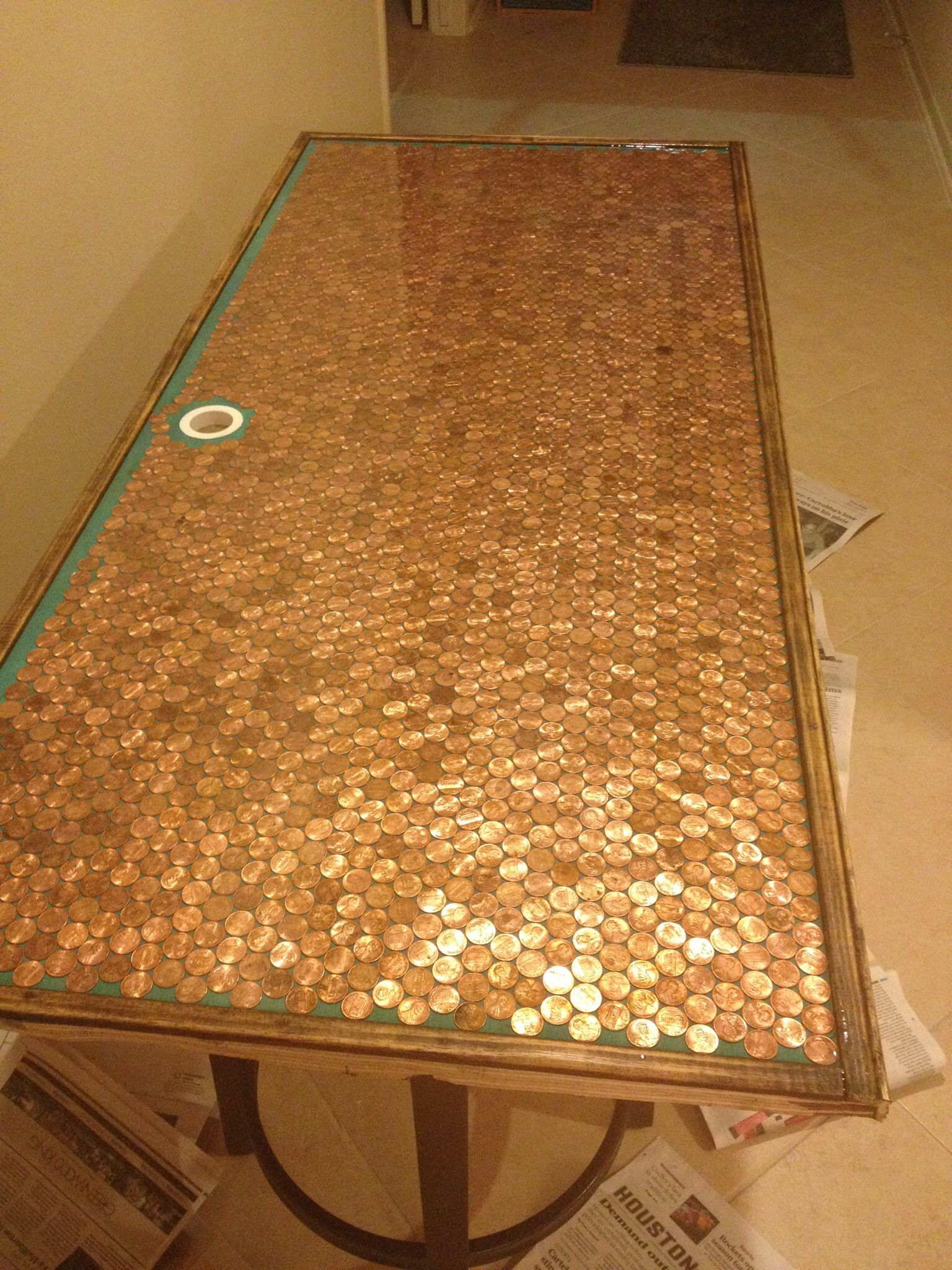Penny Countertop | Penny Counter | Pinterest | Penny ...