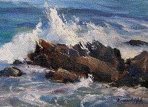 Crashing Waves, Ogunquit, ME