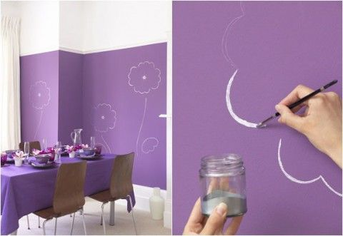 Pinta y dibuja las paredes   Ideas pintadas, Pintar diseños y Pintar