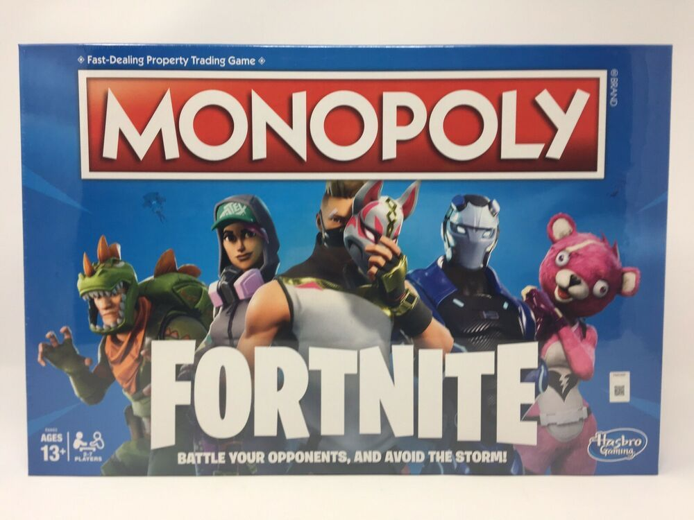 Fortnite Monopoly Board Game Limited Edition New Sealed In Box 100 Authentic Ebay Fortnite Monopoly Board Games