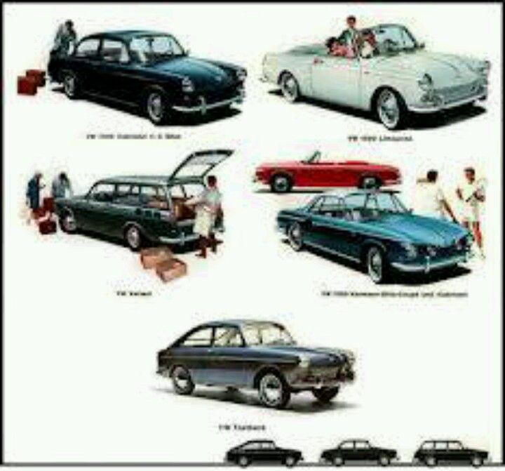 VW Type 3's