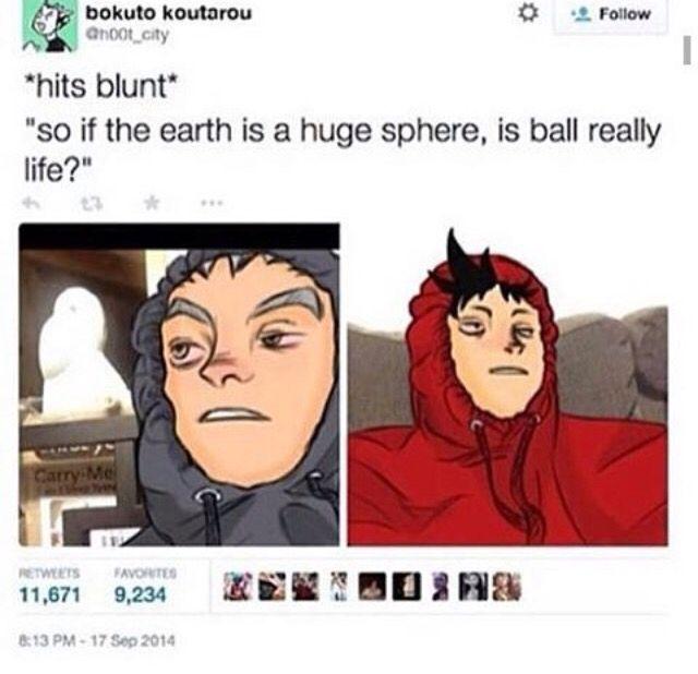 Haikyuu Bokuto Kuroo Haikyuu Bokuto Haikyuu Meme Haikyuu Anime