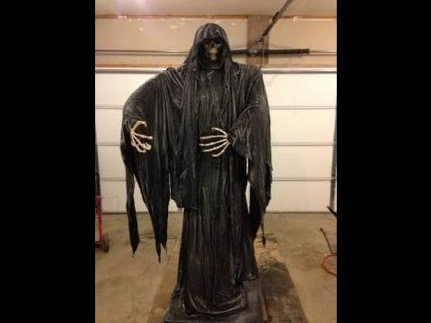 Graveyard Reaper Build - YouTube Holidays Spooky  Scary