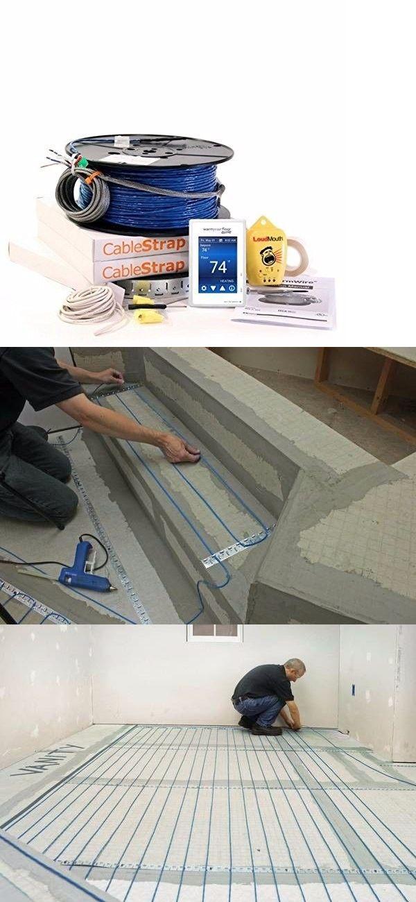 Heated Floor Mats 126214 Suntouch Wire Electric Radiant Floor