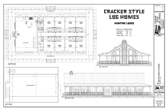 Cracker Style Log Homes Plans Cracker Style Log Homes
