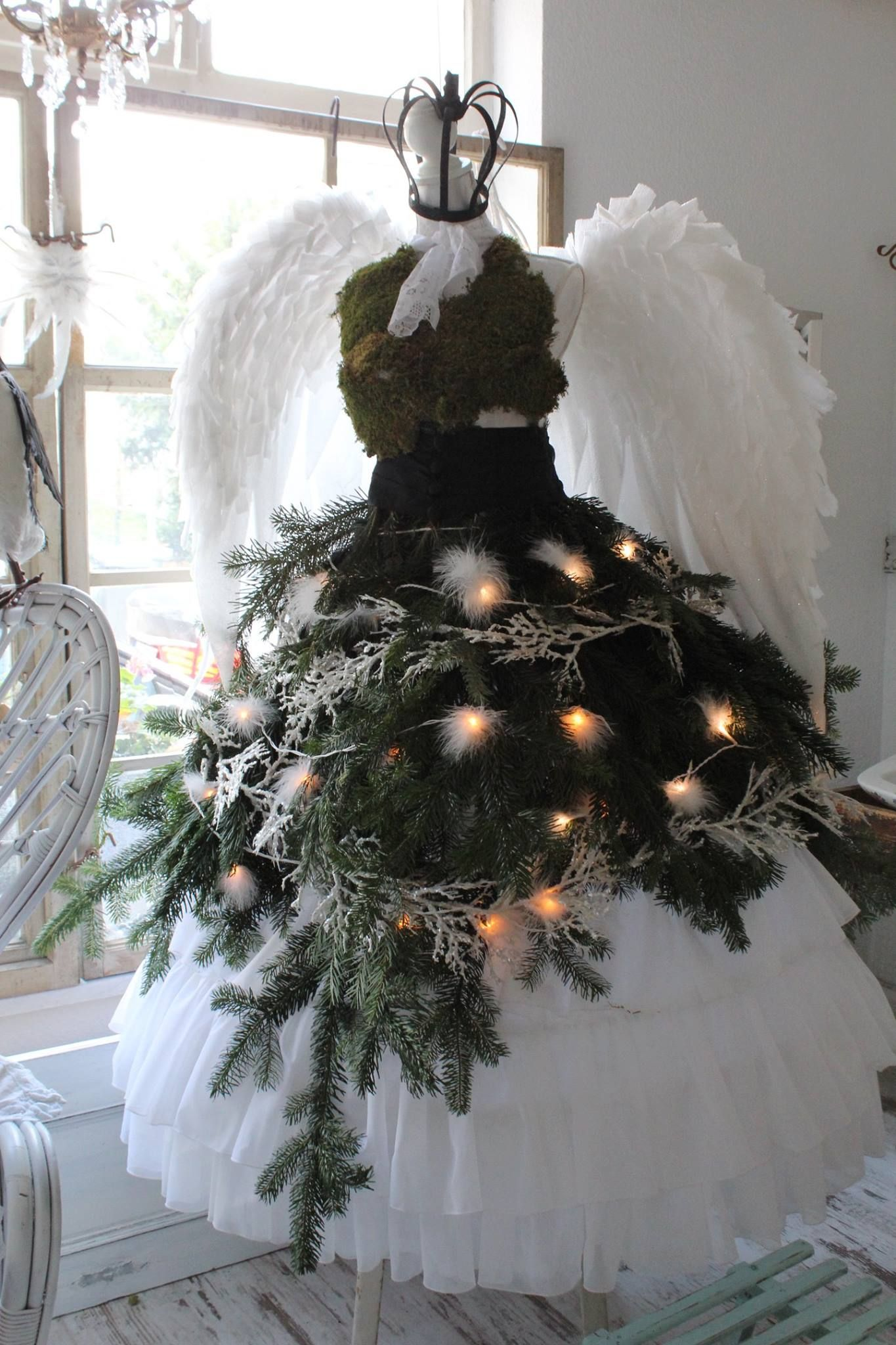 Pin by Mannequin Madness on Dress Form Christmas Trees
