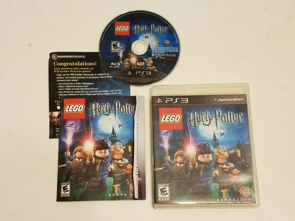 Sony Playstation 3 Ps3 Lego Harry Potter Years 1 4 Complete Cib W Box Manual Ps4 Gaming Video Lego Harry Potter Harry Potter Years Lego
